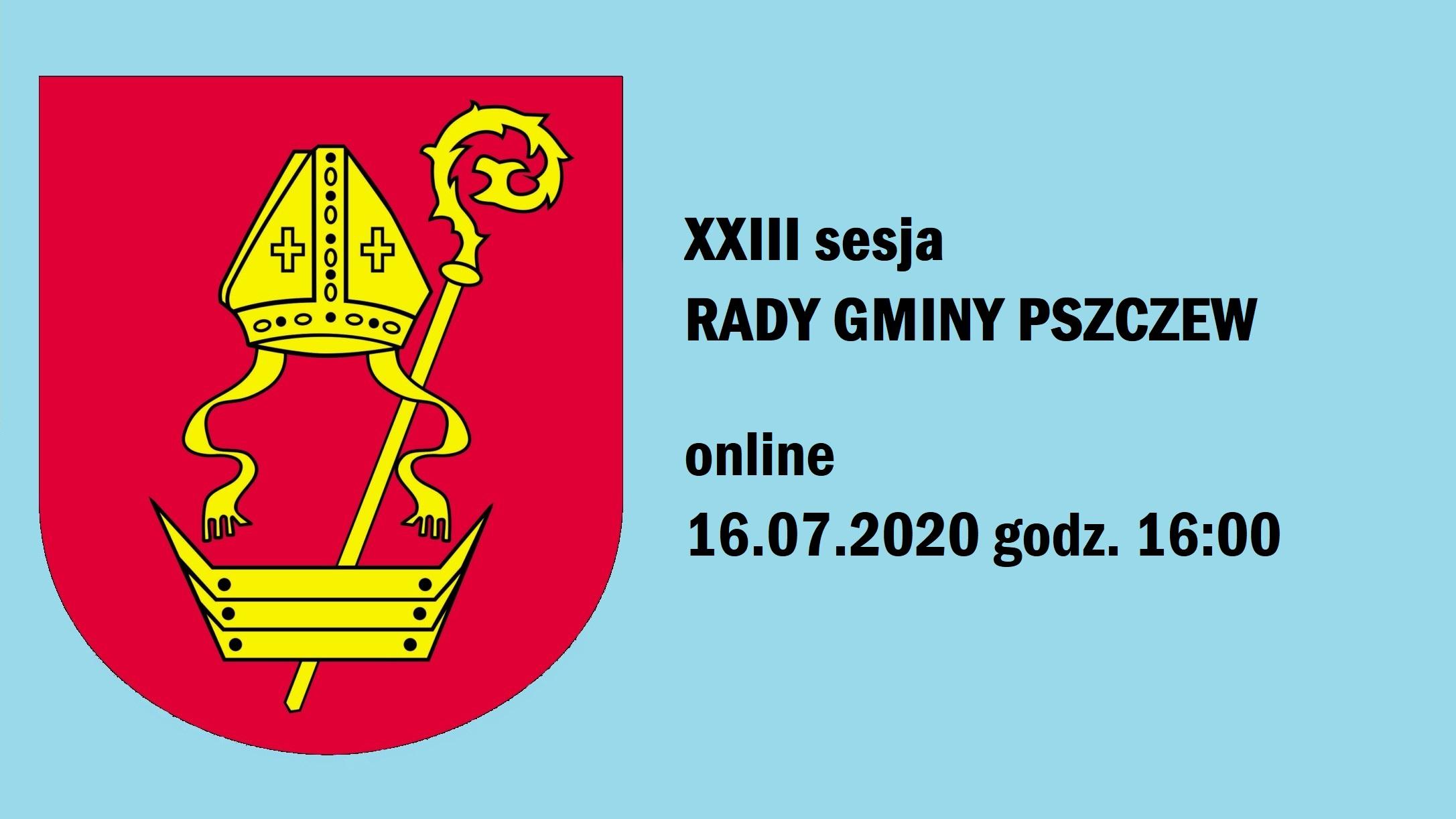 SESJA RG PSZCZEW online 16:00