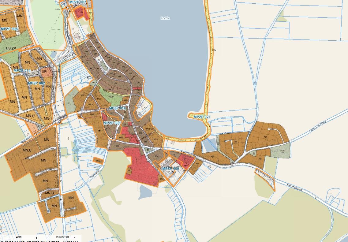 Wyłożenie do publicznego wglądu projektu miejscowego planu zagospodarowania przestrzennego – Pszczew