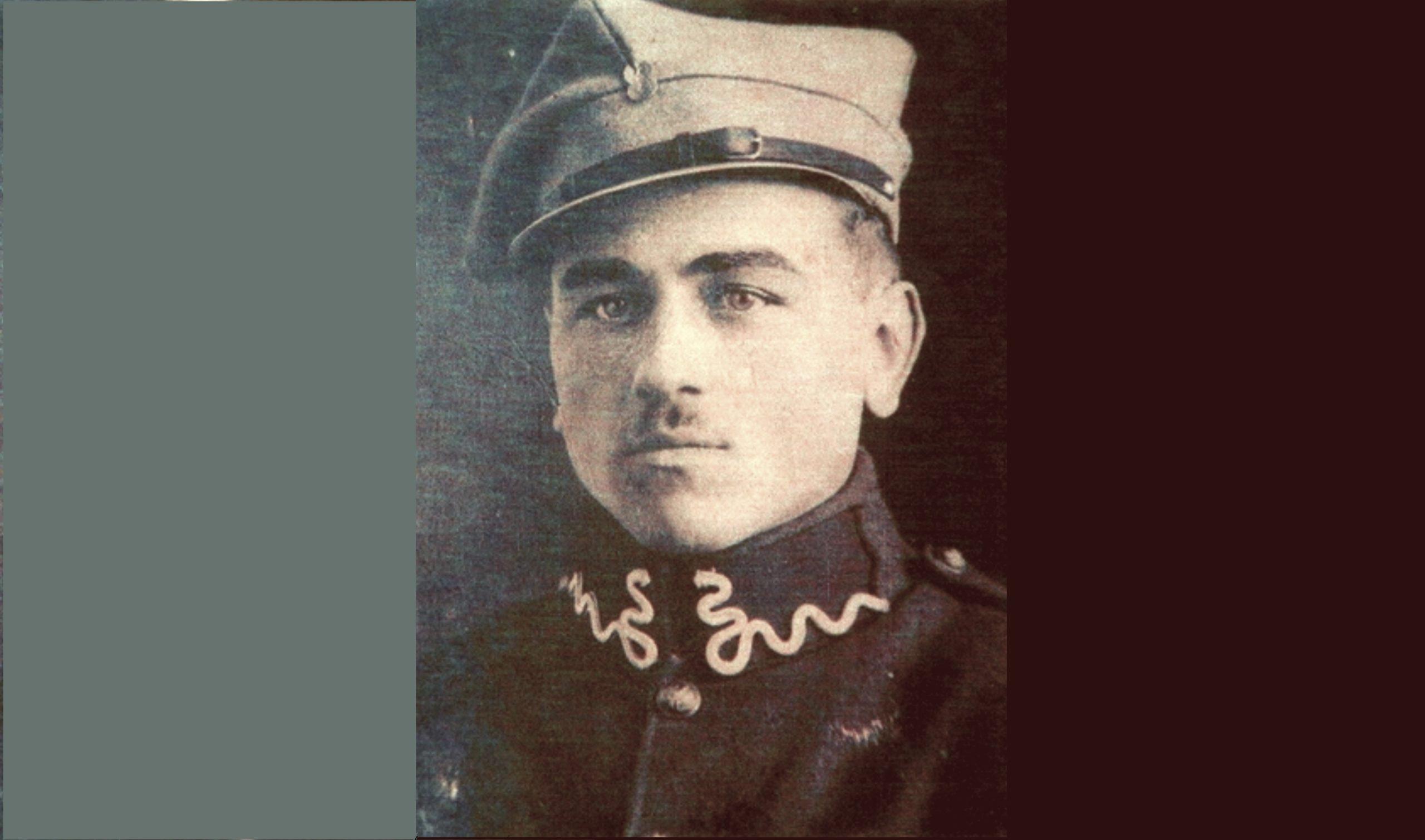 Poświęcenie nagrobka Antoniego Palucha – strażnika granicznego